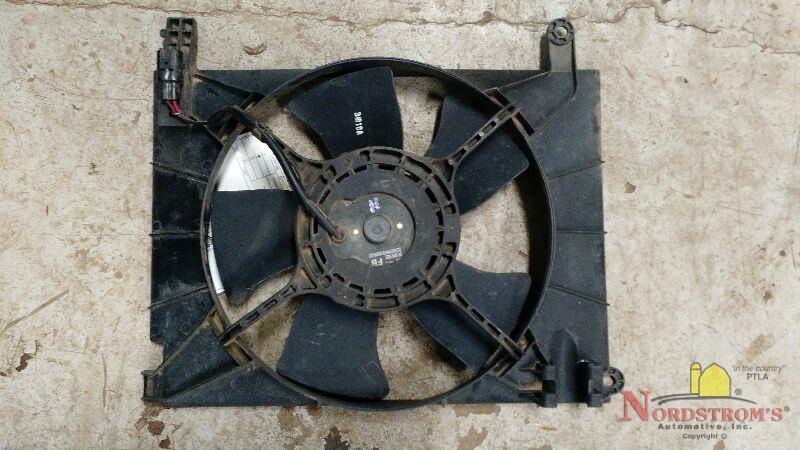 2004 Chevy Aveo Radiator Cooling Fan Assembly Ebay