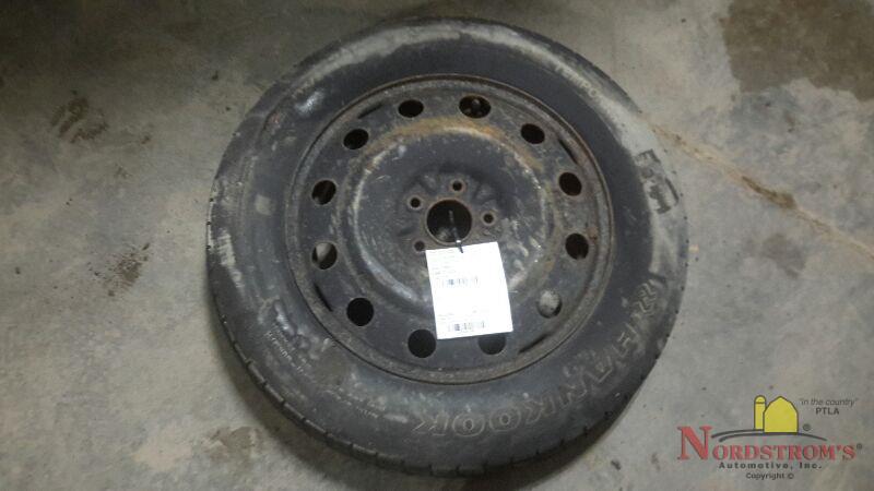 2006 ford escape compact spare tire wheel rim 17x4 5 lug 4 1 2 steel. Black Bedroom Furniture Sets. Home Design Ideas