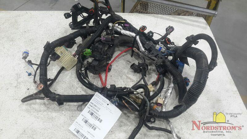 Used Auto Wiring Harness : Used engine wiring harnesses for the chevrolet malibu
