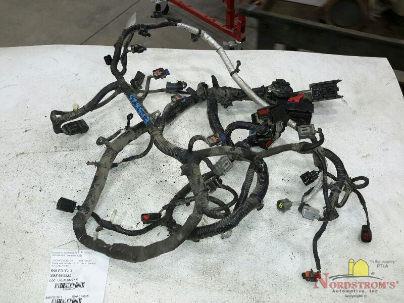 2013 ford focus engine wire harness 10 12,2 0l,6spd auto,se ebay