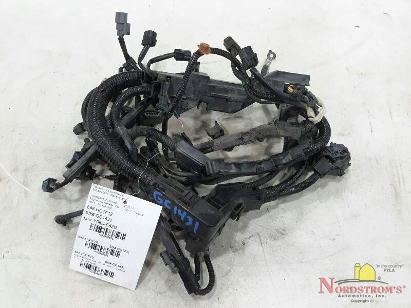 2012 honda fit engine wire harness 10-11,1.5l,5spd auto,fwd | ebay  ebay