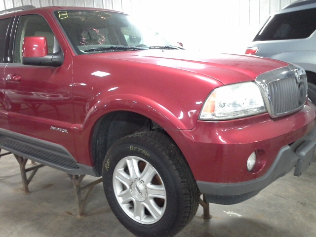 Bf on 2004 Lincoln Aviator Parts Manual