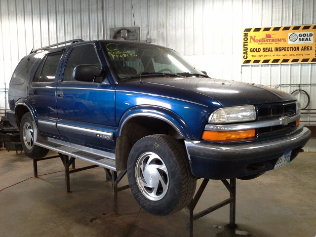 2000 Chevy S10 Blazer Abs Anti
