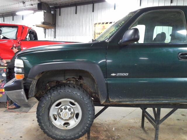 2002 chevy silverado 2500 pickup front door window