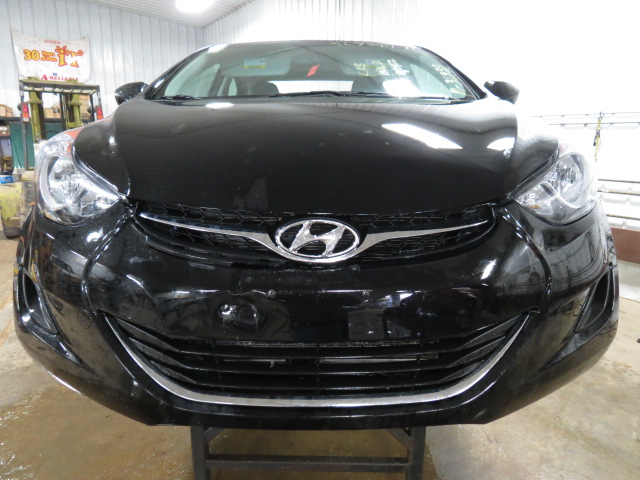 2011 Hyundai Elantra Tpms Tire Air Pressure Monitoring