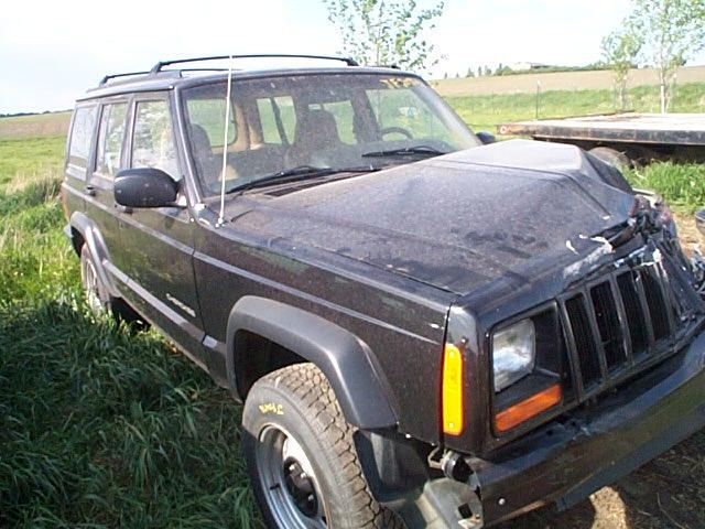 1997 Jeep Cherokee Speedometer Instrument Cluster Gauges