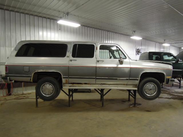 1990 Chevy Suburban 2500 Door Mirror Manual Remote LH