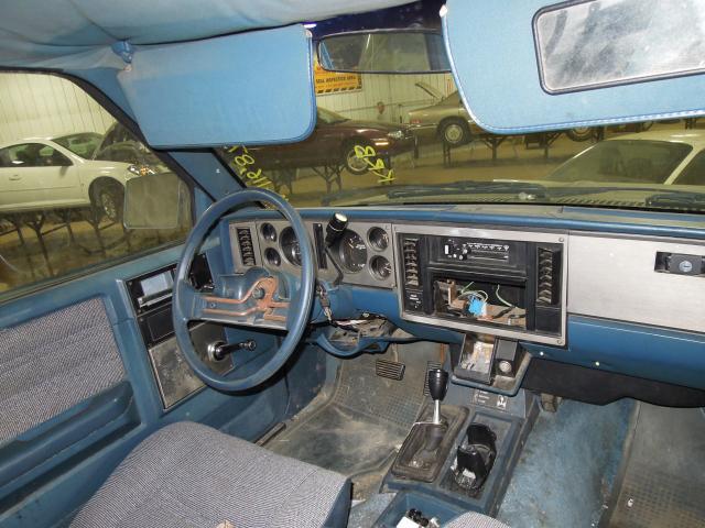 1984 Chevy S10 Blazer Speedometer Instrument Cluster