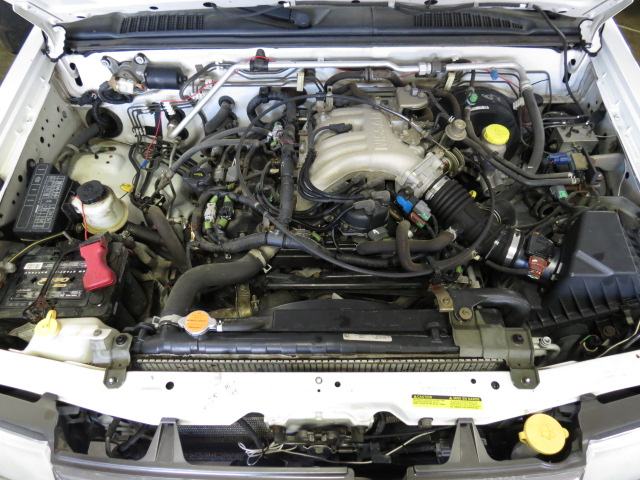 2000 nissan frontier engine