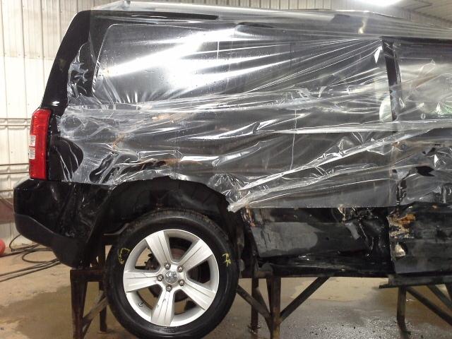 2012 jeep patriot gas fuel filler lid door black ebay. Black Bedroom Furniture Sets. Home Design Ideas