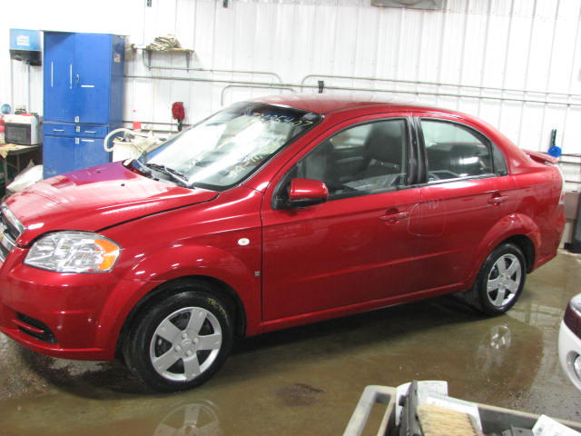 2007 chevy aveo windshield wiper motor 11686 miles on. Black Bedroom Furniture Sets. Home Design Ideas